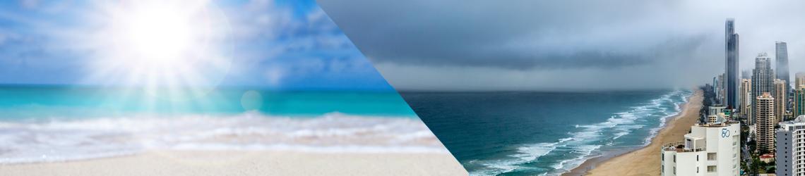 Ricerca il clima ideale e scopri le località attraverso le precipitazioni